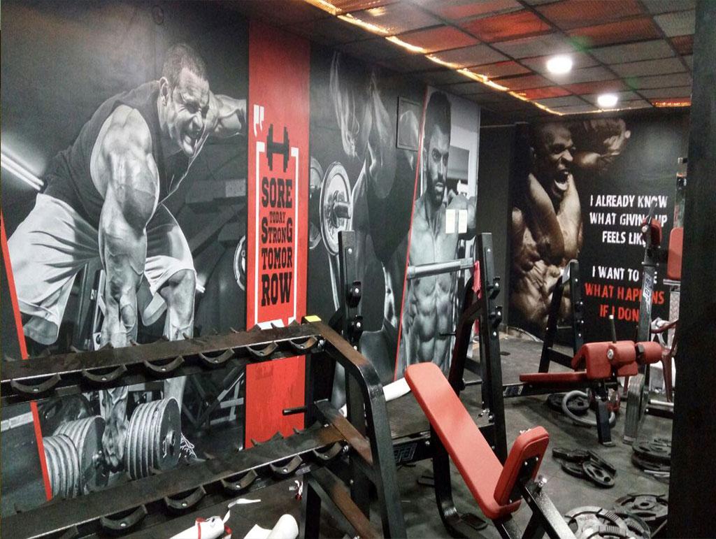 Hadcore Workout Gym Wallpaper Dezine World