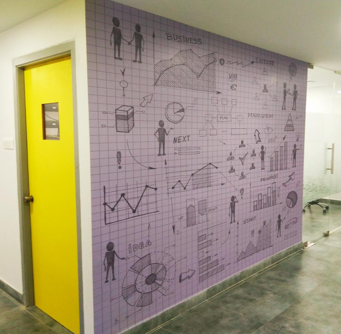 Corporate Design Customized Wallpaper